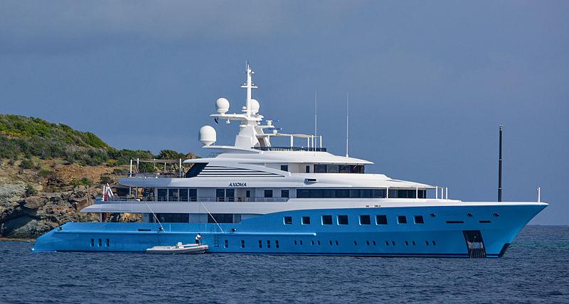 yacht Axioma in St. Barths
