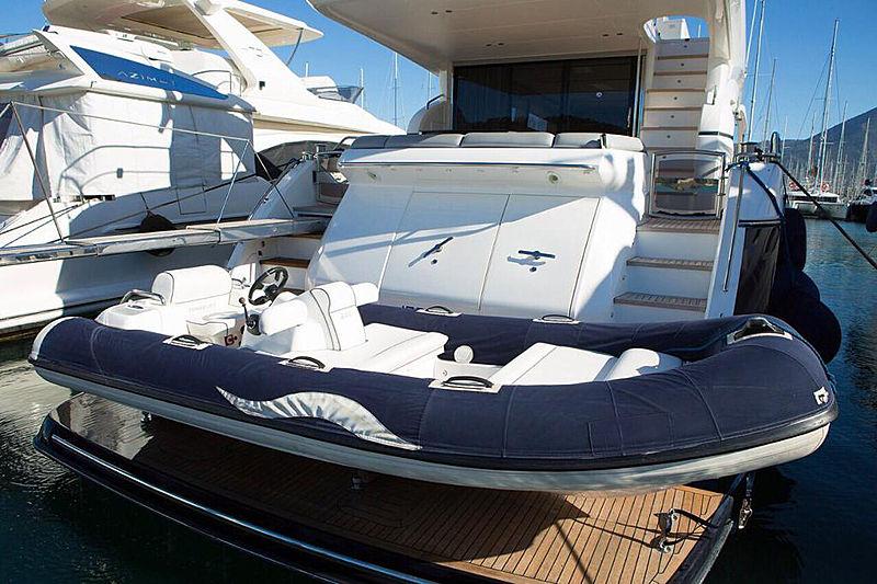 Rainbow yacht tender