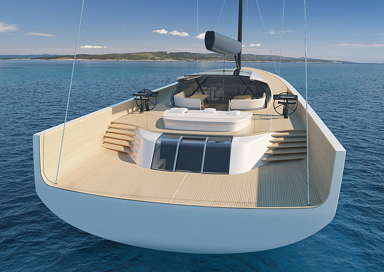 SY200 superyacht concept by Philippe Briand