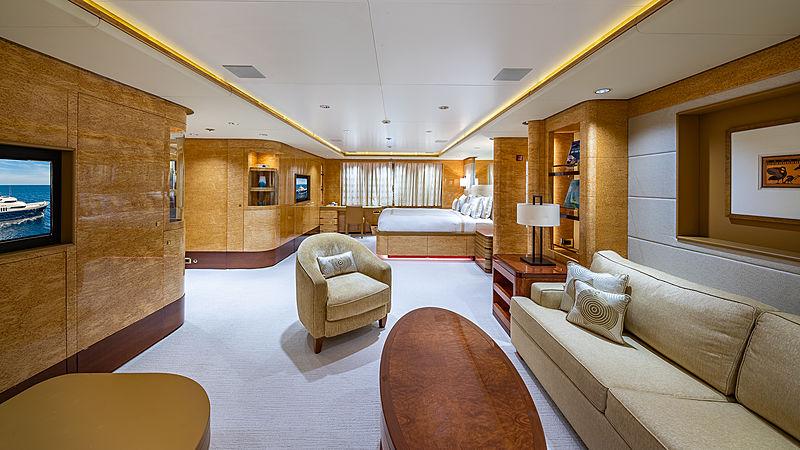 Felix yacht stateroom
