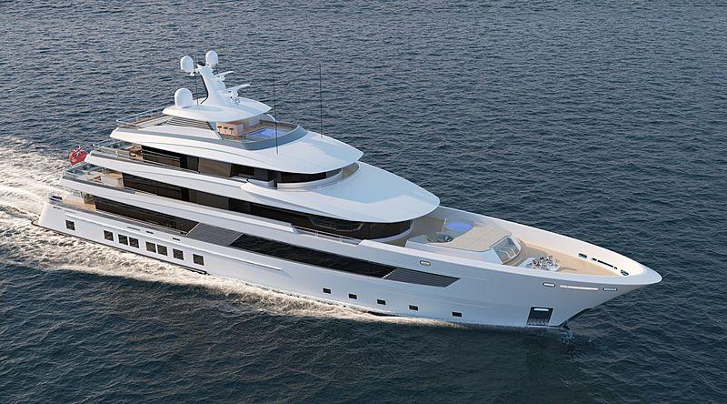 Asia yacht exterior design