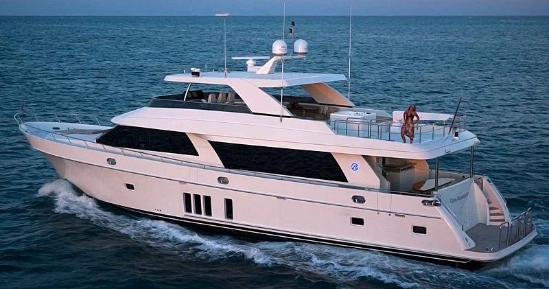 Laurie Ann yacht cruising
