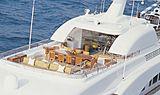 Hadia yacht sundeck