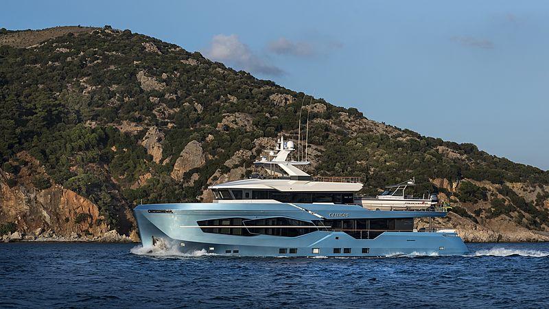 Calliope yacht cruising