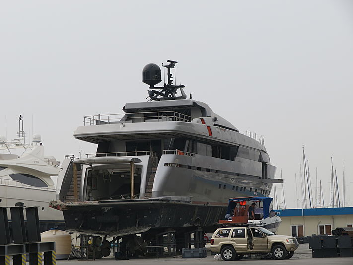 Princess Claudia II yacht at West Istanbul Marina