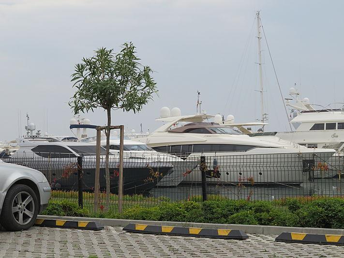 White Swan yacht at West Istanbul Marina
