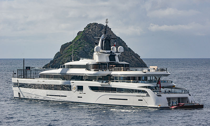 yacht Lady S in St Barths