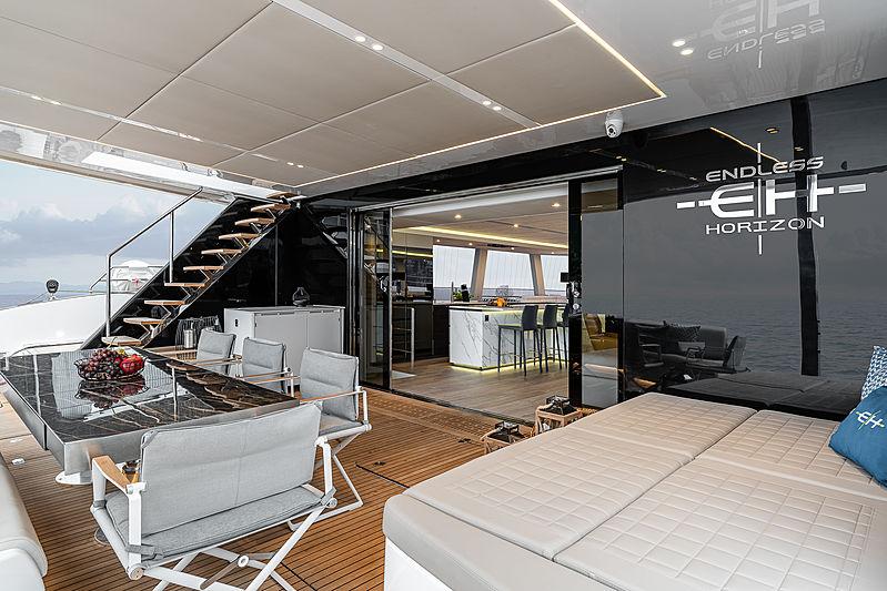 Endless Horizon yacht exterior