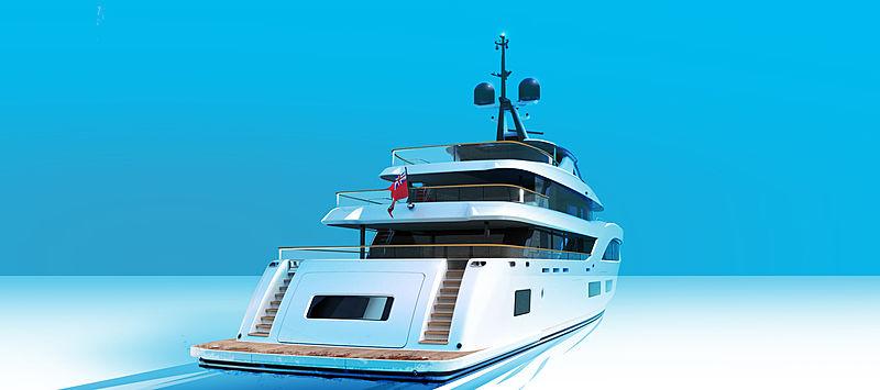 Baglietto 54m yacht hull 10231