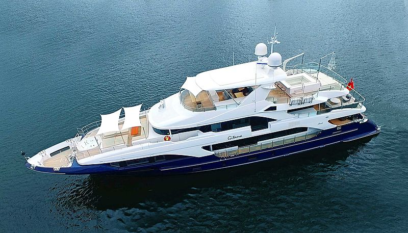 QUEEN D yacht Benetti