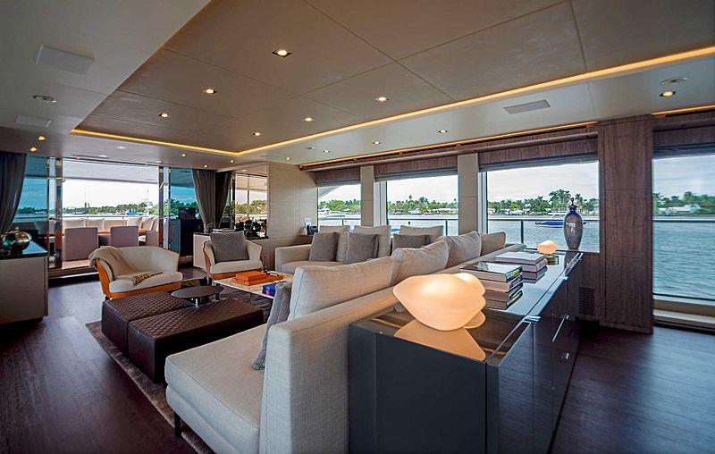 Gitana yacht interior
