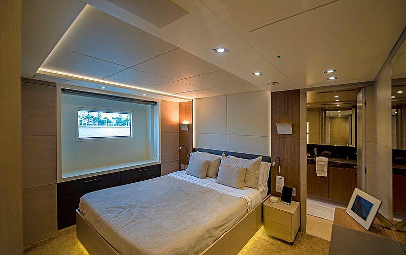 Gitana yacht stateroom