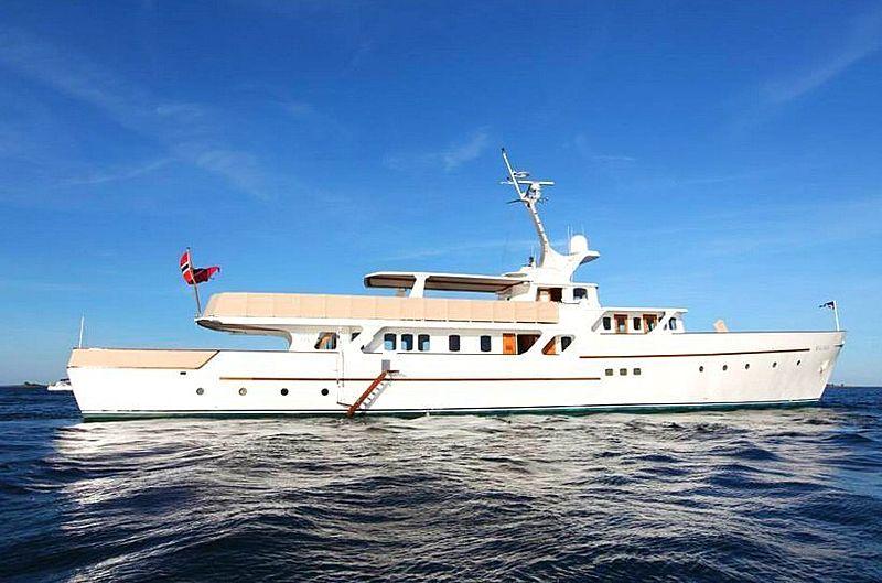 Riva Italia yacht anchored