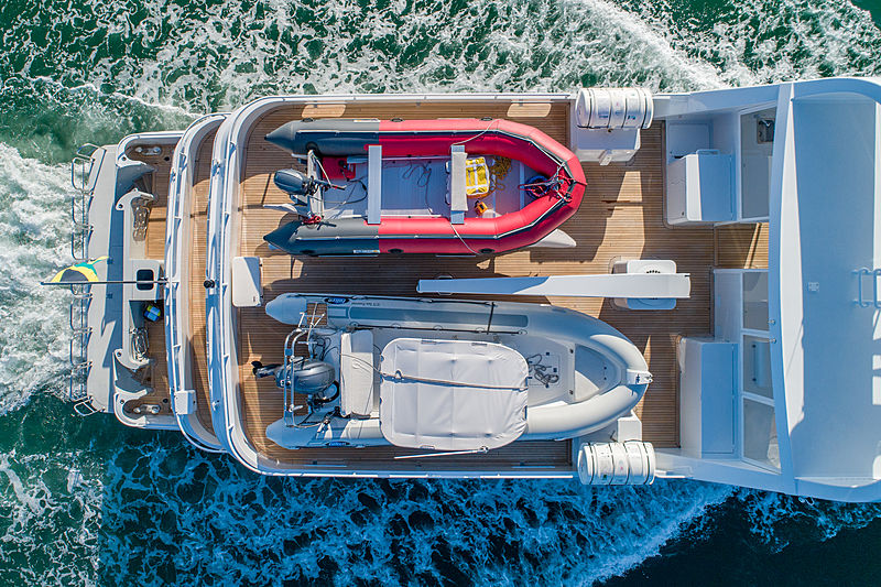 Sea Forever yacht tenders