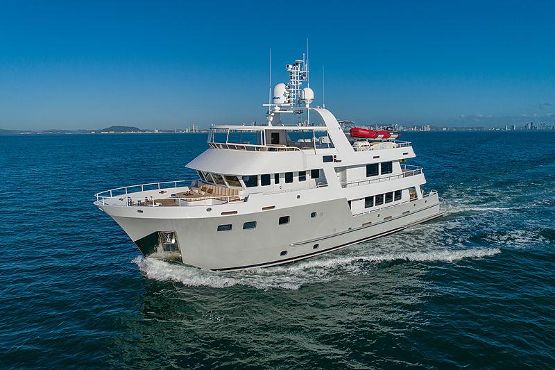 Sea Forever yacht cruising