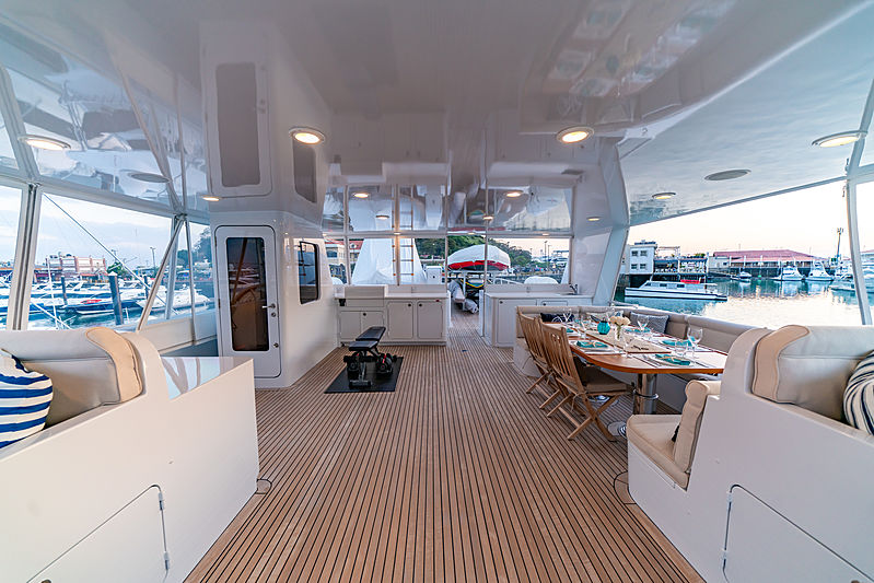 Sea Forever yacht deck