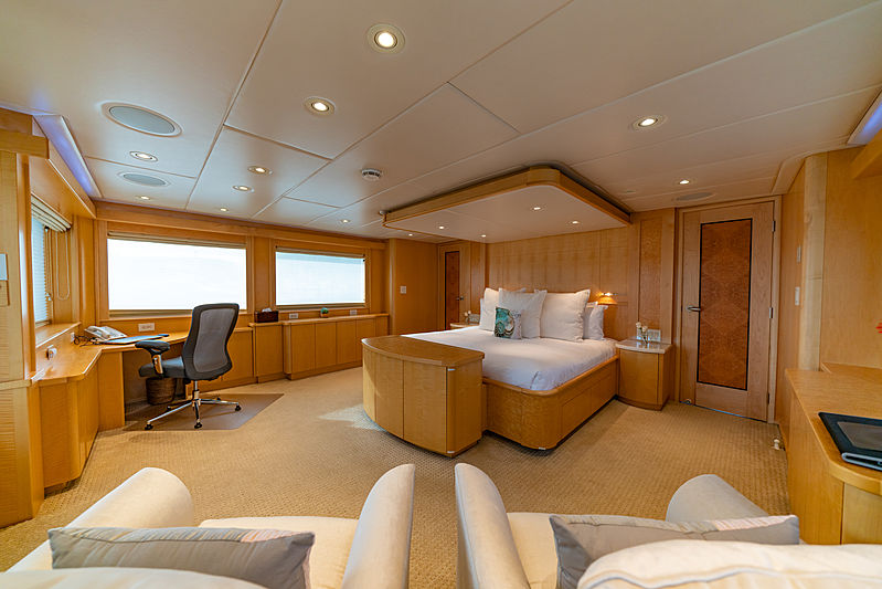 Sea Forever yacht stateroom
