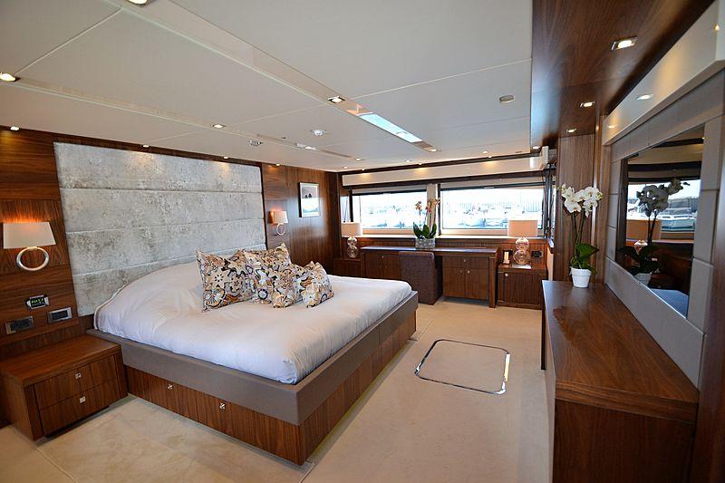 Willpower yacht stateroom