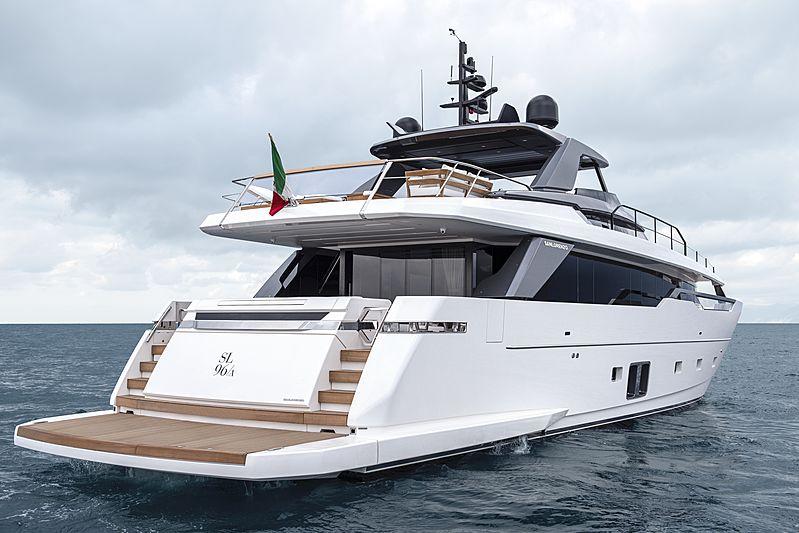 SanLorenzo SL96 Asymmetric exterior
