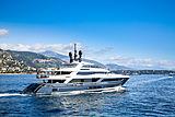 Severinos yacht leaving Monaco