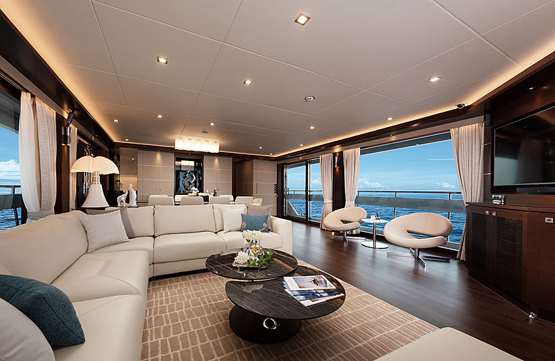 Horizon  FD102/01 Skyline yacht interior