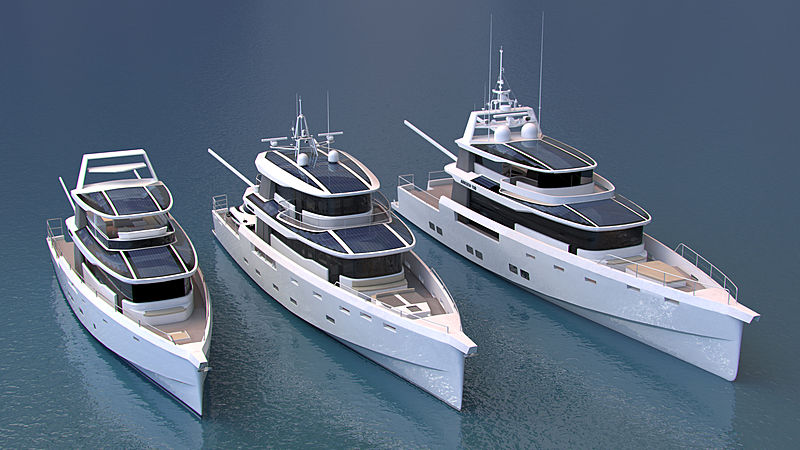 Arksen explorer yacht fleet