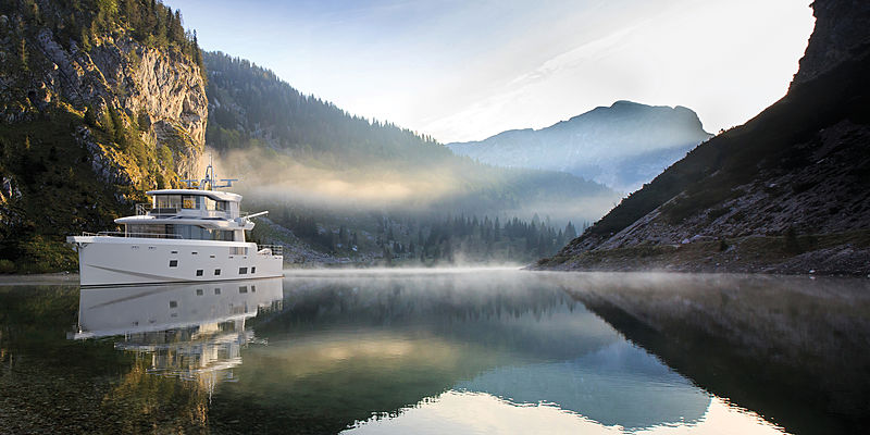 Arksen 85 yacht render