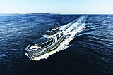 Arcadia 105 yacht RJ running