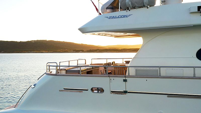 Luisamay yacht exterior detail