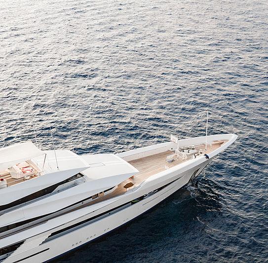 Joy yacht aerial