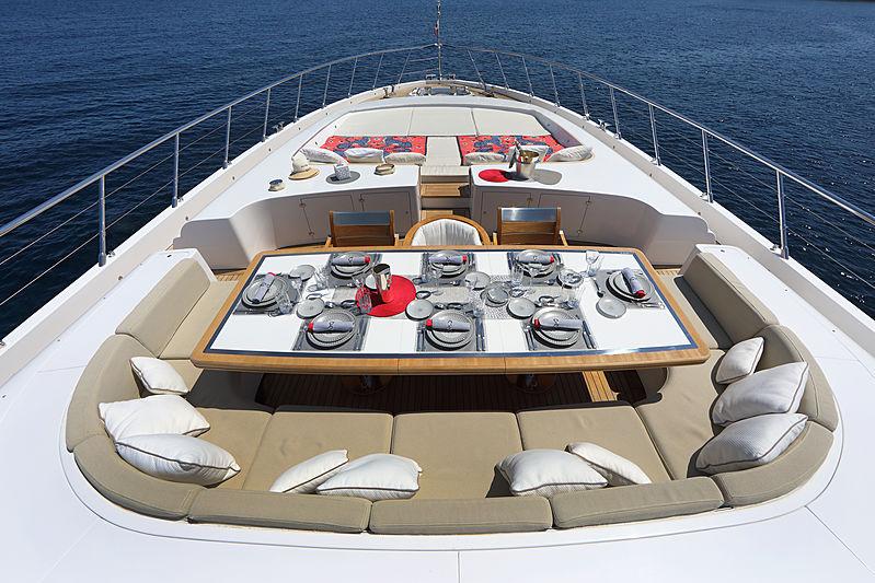 You & G yacht frton deck