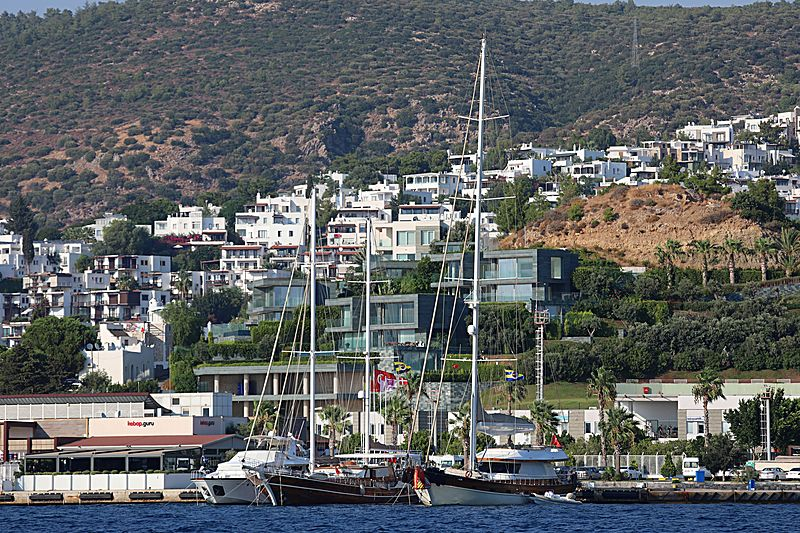 DAGLARCA yacht Aganlar Boatyard