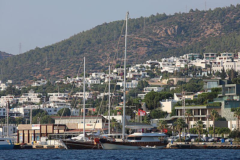 Dağlarca yacht in Bodrum Marina