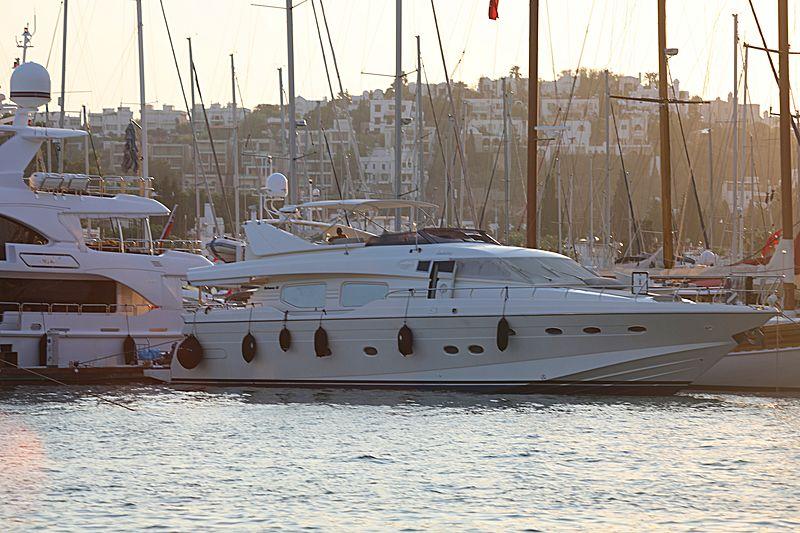 Dedebay yacht in Bodrum Marina