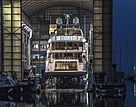 Benetti Diamond 145 Ink yacht launch in Viareggio