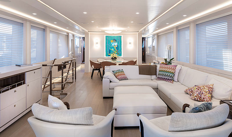 Vanadis yacht interior