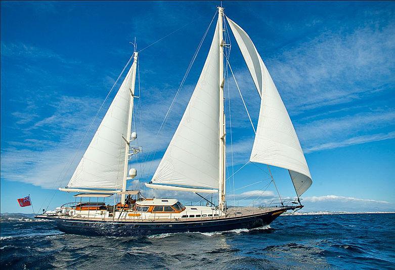Audrey II yacht sailing