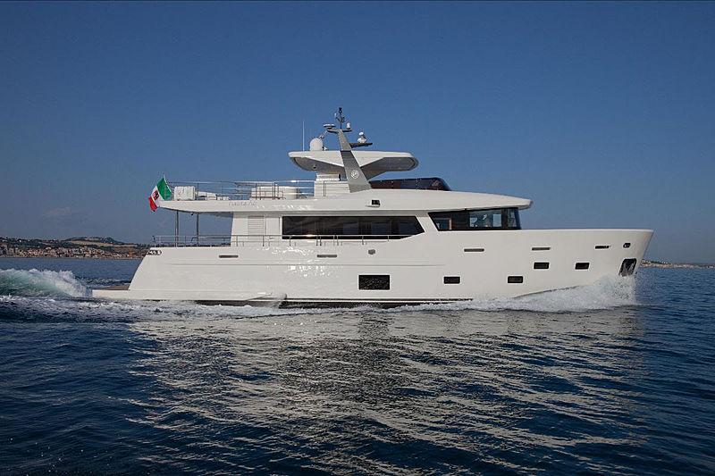 Rosey yacht cruising