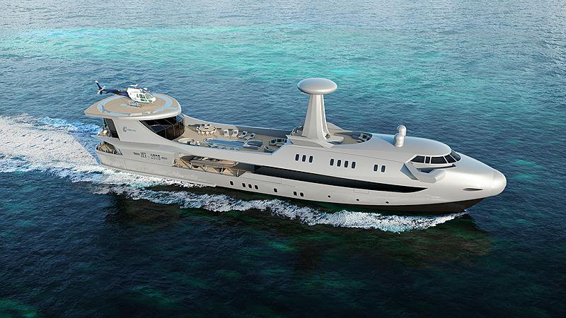 Codecasa Jet 2020 yacht exterior design