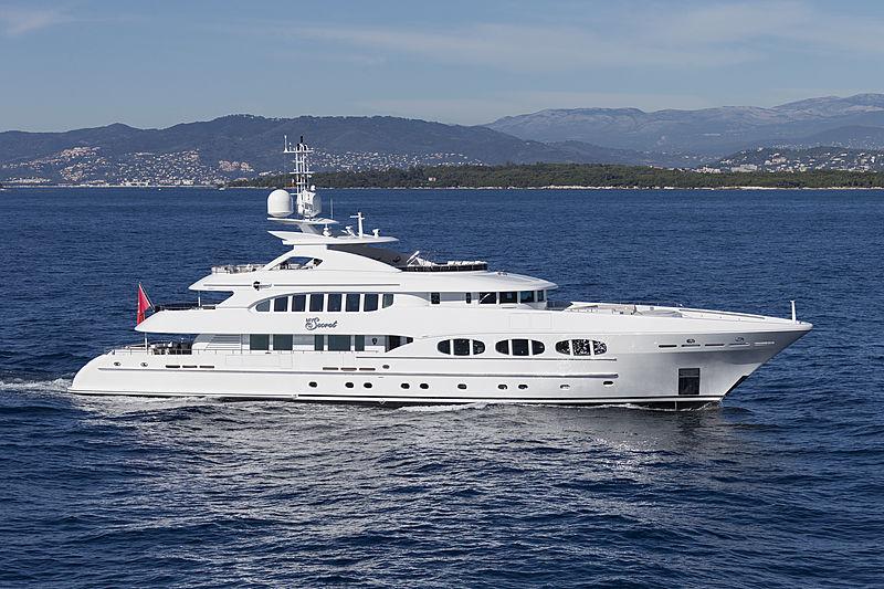 My Secret yacht cruising