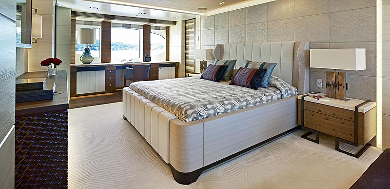 My Secret yacht stateroom