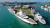 Superyachts in Miami