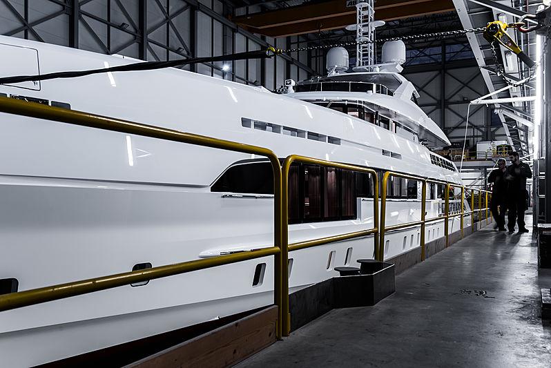 Heesen Electra yacht launch