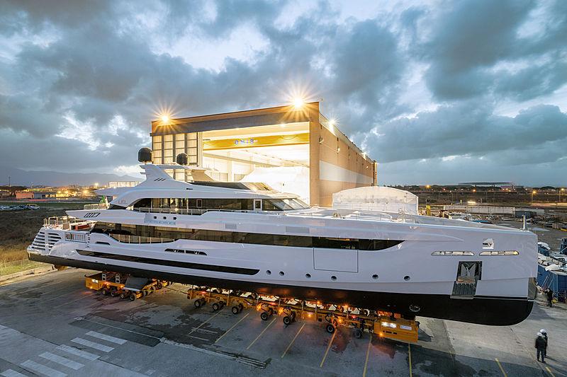LEL yacht launch in Pisa
