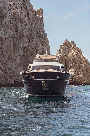 Catari yacht bow