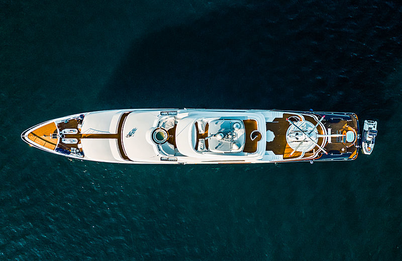 Attessa yacht by Feadship in Cabo San Lucas