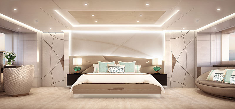 Heesen YN 18850 Project Triton yacht interior