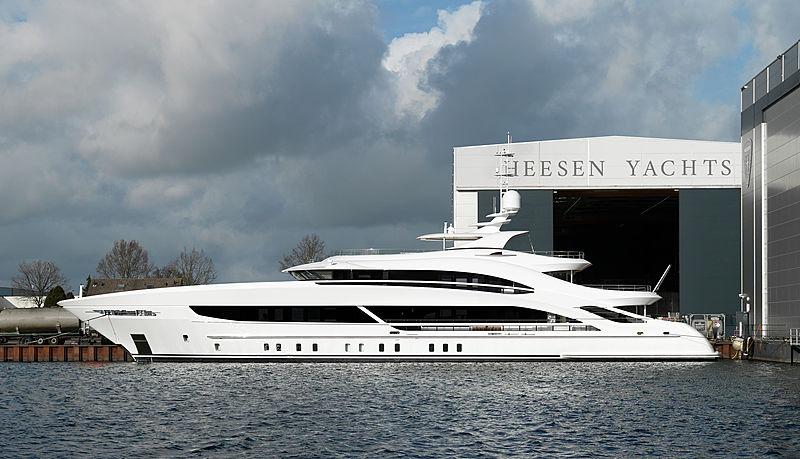 TRITON  yacht Heesen