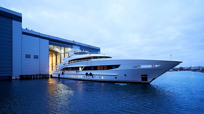 Heesen YN 18850 yacht Project Triton in Oss