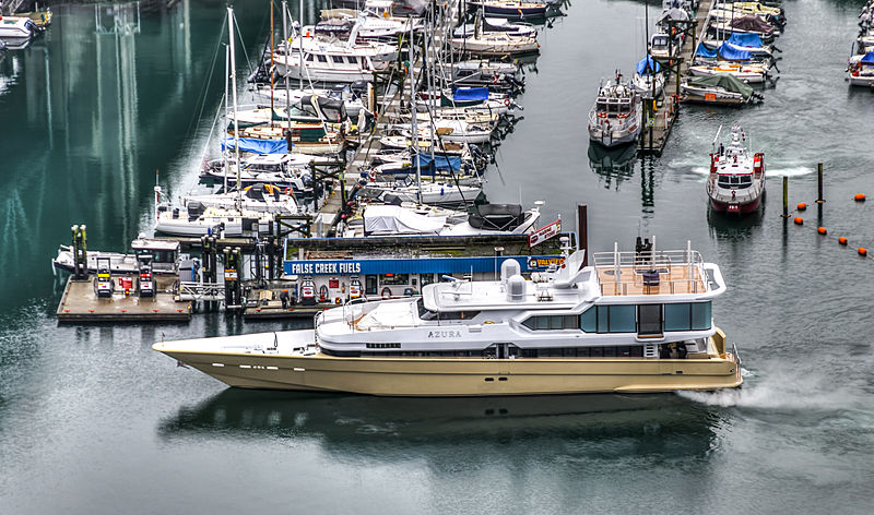 Azura yacht by Oceanfast in Vancouver